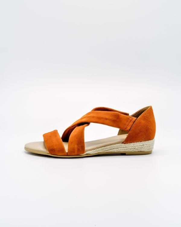 sandalo arancione